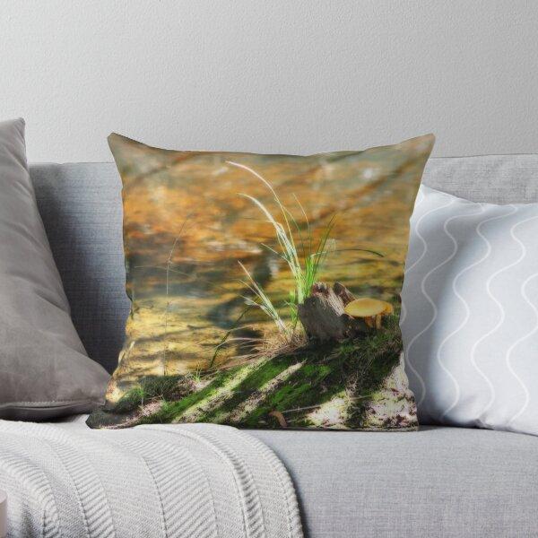 Little Peninsula  Throw Pillow