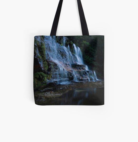 Katoomba Falls All Over Print Tote Bag