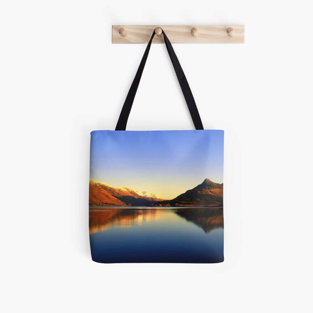 Loch  Leven and The Pap of Glencoe  Tote Bag