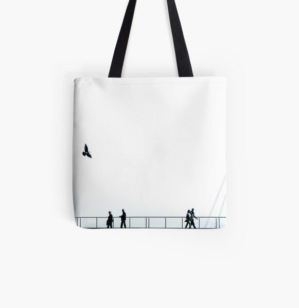 Digg All Over Print Tote Bag