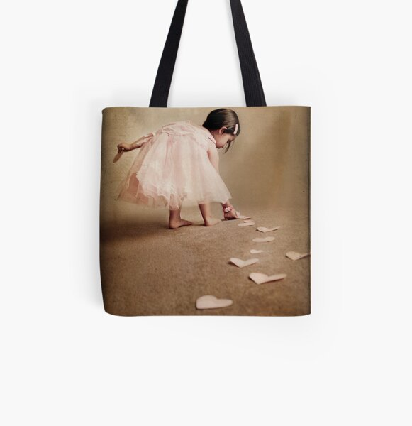 follow the love trail... All Over Print Tote Bag