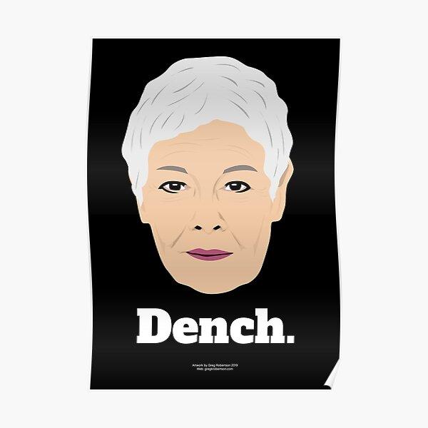 Dame Judi Poster Poster