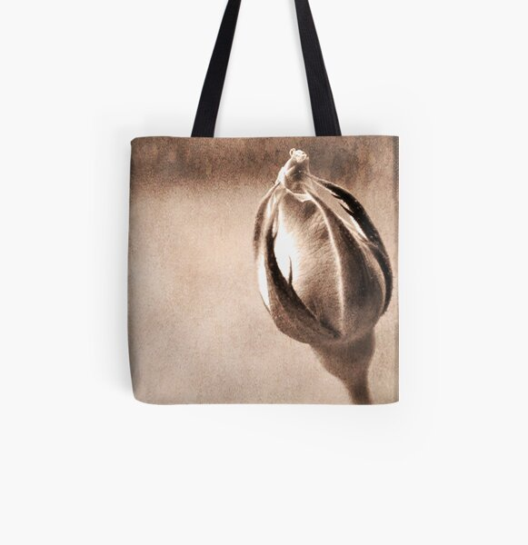 Stone Rose All Over Print Tote Bag