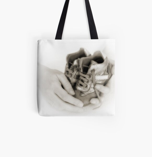 Hands: Care and protection All Over Print Tote Bag