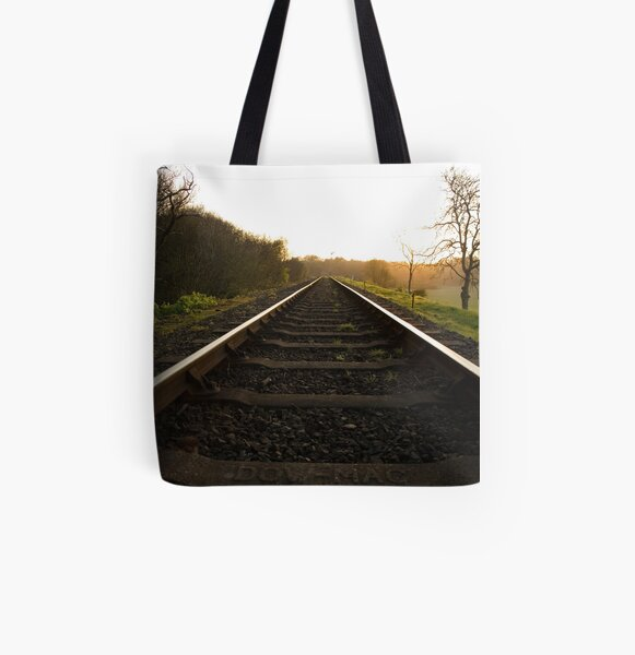 On The Tracks At Kelling Heath All Over Print Tote Bag