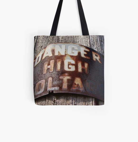 High Voltage II All Over Print Tote Bag