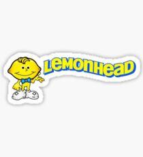 Lemonhead Candy -Retro Logo Sticker