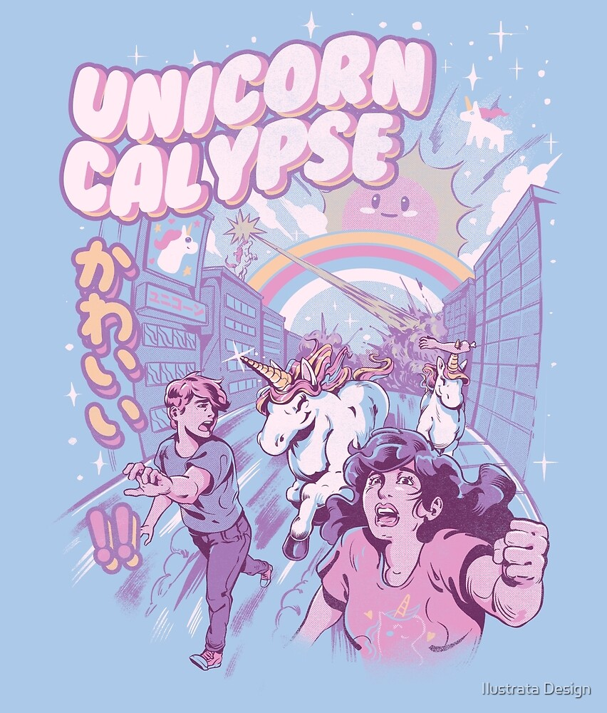 Unicorn Calypse by Ilustrata Design