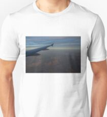 Flying Over the Mojave Desert at Dawn T-Shirt