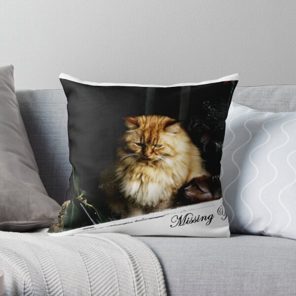 CARD - Missing you Throw Pillow