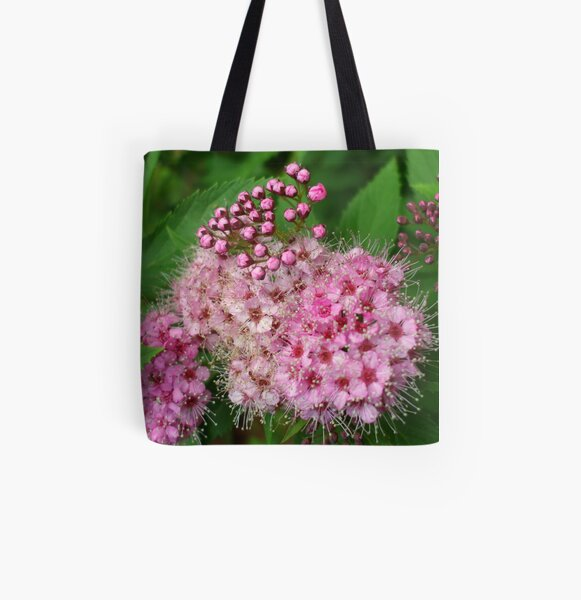 PINK SPIAREA All Over Print Tote Bag