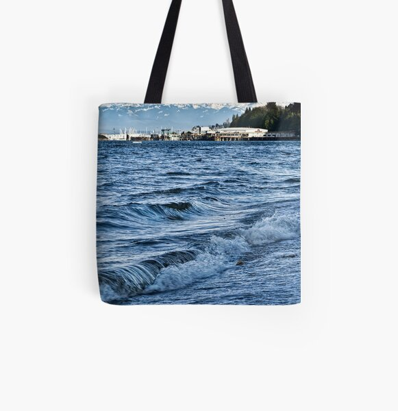 Overlooking the Sound All Over Print Tote Bag