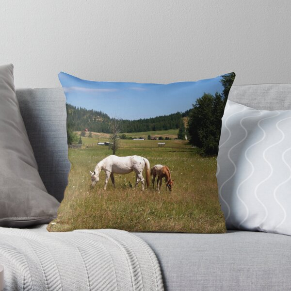 Lunch With Mom Throw Pillow