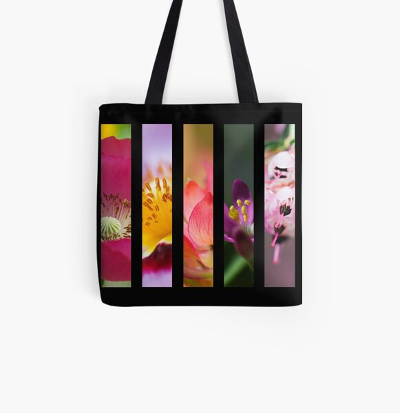 Perennial Bounty All Over Print Tote Bag