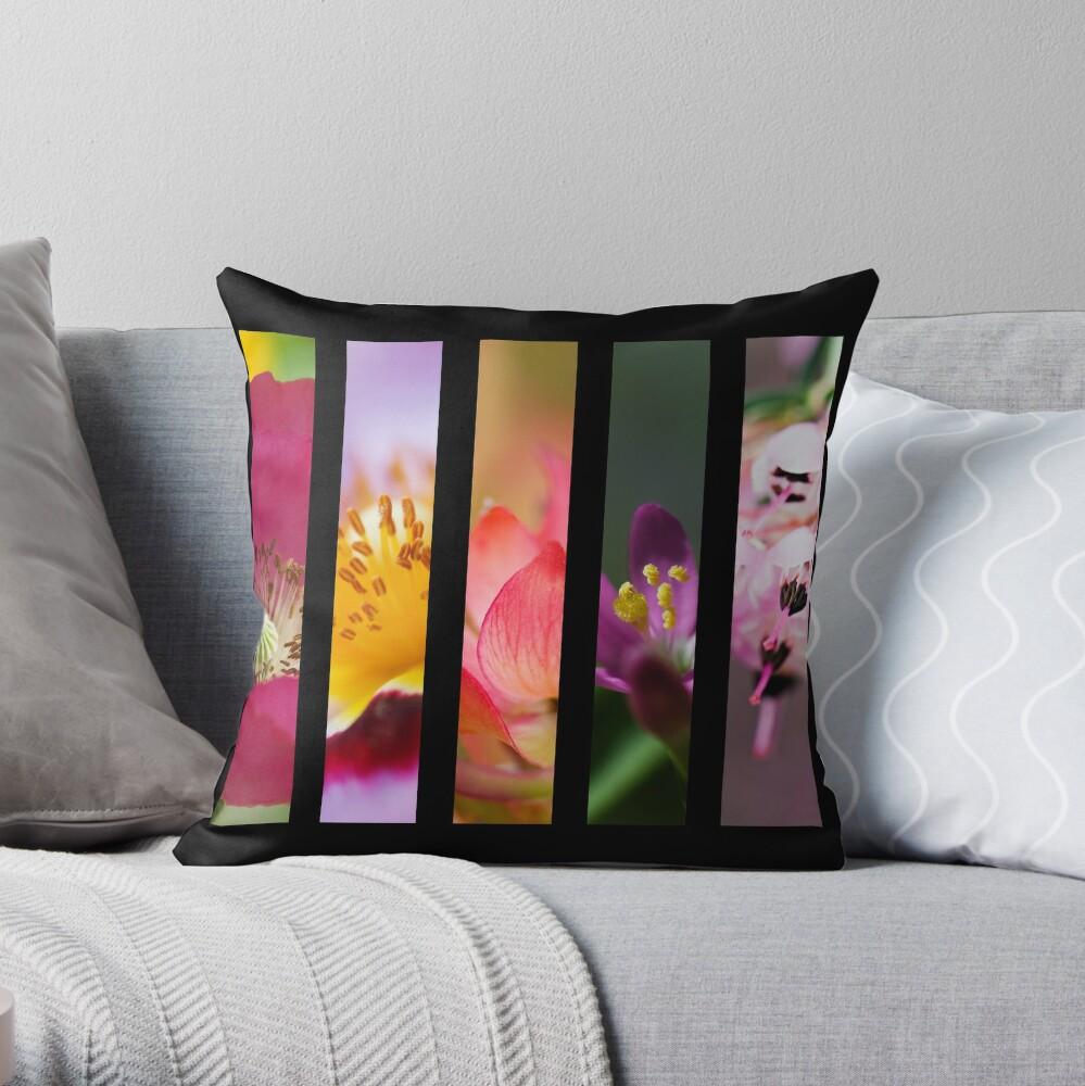 Perennial Bounty Throw Pillow