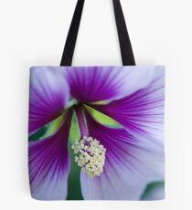 Purple Effusion Tote Bag