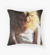 Grace (prom) Throw Pillow