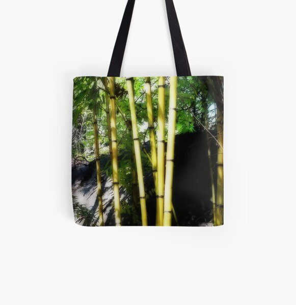 Shoots of green All Over Print Tote Bag