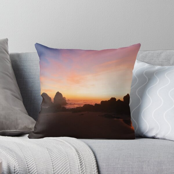 Pacific Radiance Throw Pillow