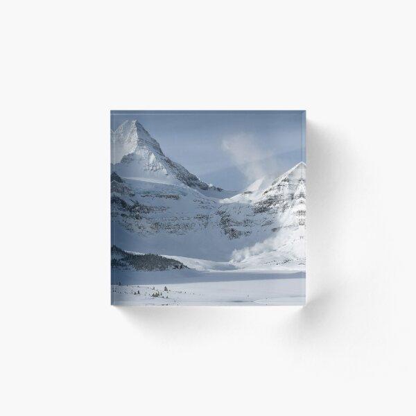 Assiniboine Avalanche Acrylic Block