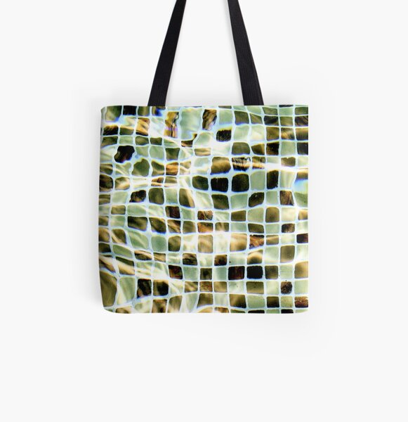 indian squares All Over Print Tote Bag