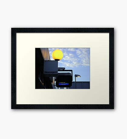greater and lesser lights Framed Print