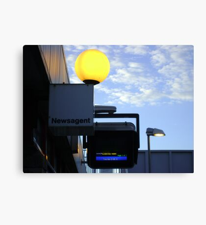 greater and lesser lights Canvas Print