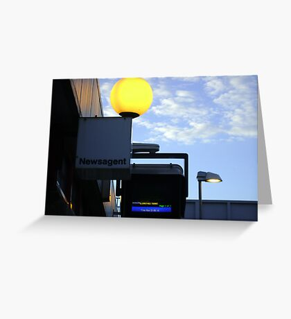greater and lesser lights Greeting Card