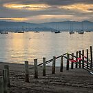 Sunrise at Marieville Esplanade, Sandy Bay, Tasmania #7 by Chris Cobern