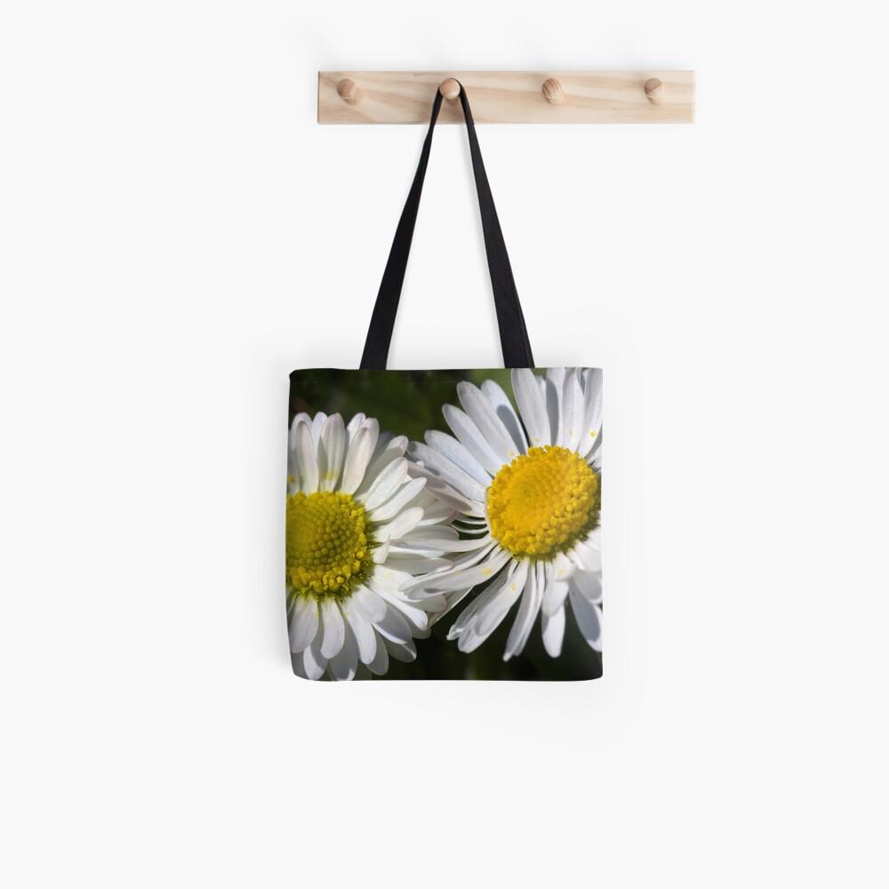 Daisies (Bellis perennis) Tote Bag