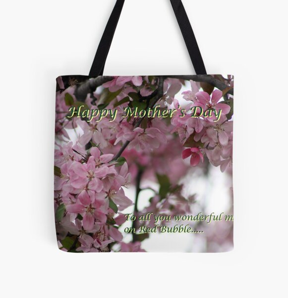 HAPPY MOTHER'S DAY All Over Print Tote Bag