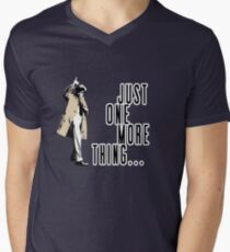 Just One More Thing... Men's V-Neck T-Shirt