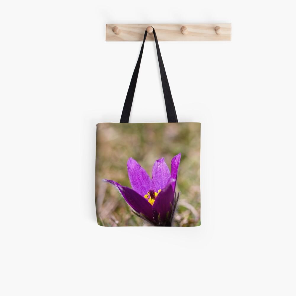 Pasqueflower (Pulsitilla vulgaris) Tote Bag