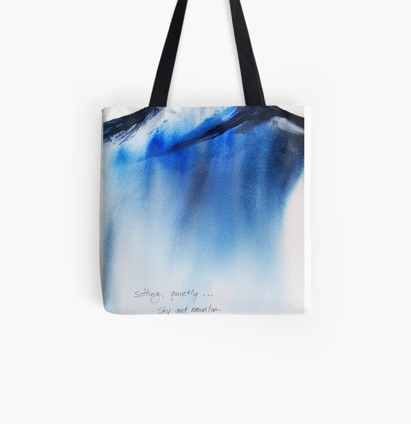 sitting All Over Print Tote Bag