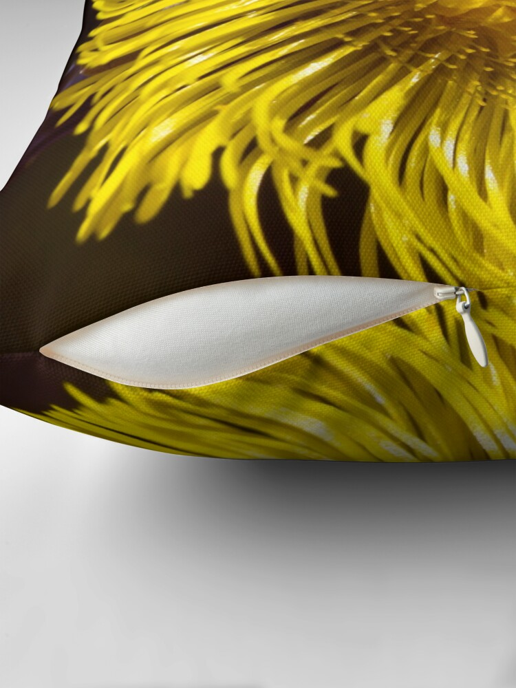 Alternate view of Colt's-foot (Tussilago farfara) Throw Pillow
