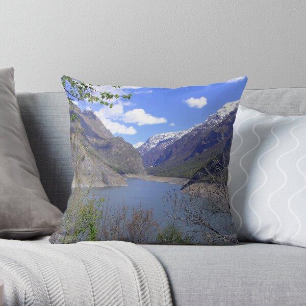 Lac du Chambon Throw Pillow