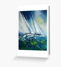 The Tall Ships' Races Greeting Card