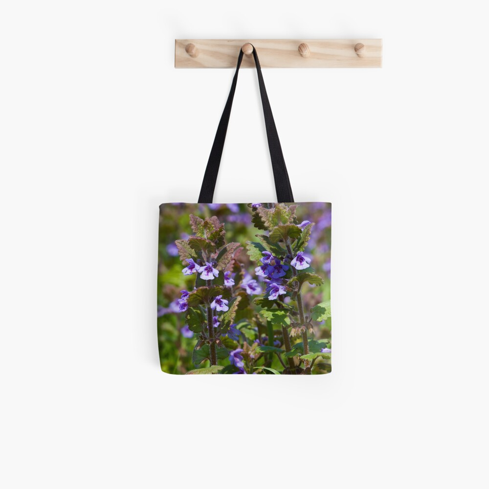 Ground Ivy (Glechoma hederacea) Tote Bag