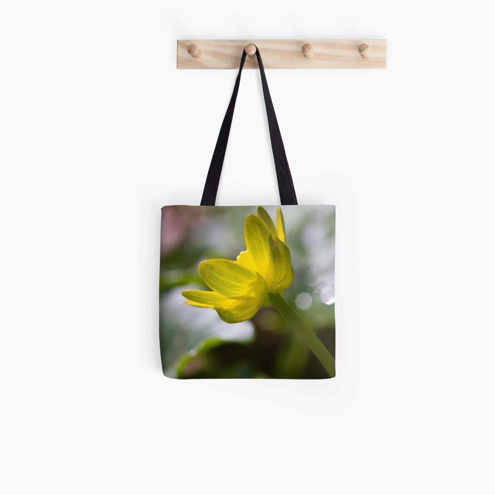 Lesser Celandine (Ranunculus ficaria) Tote Bag