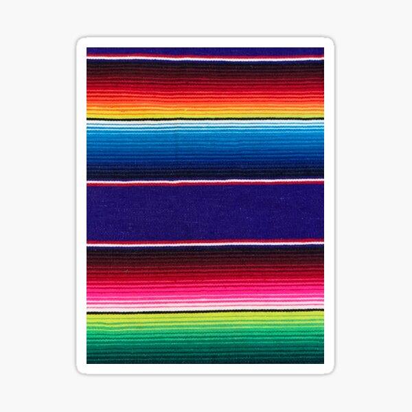 Serape of Mexico Sticker