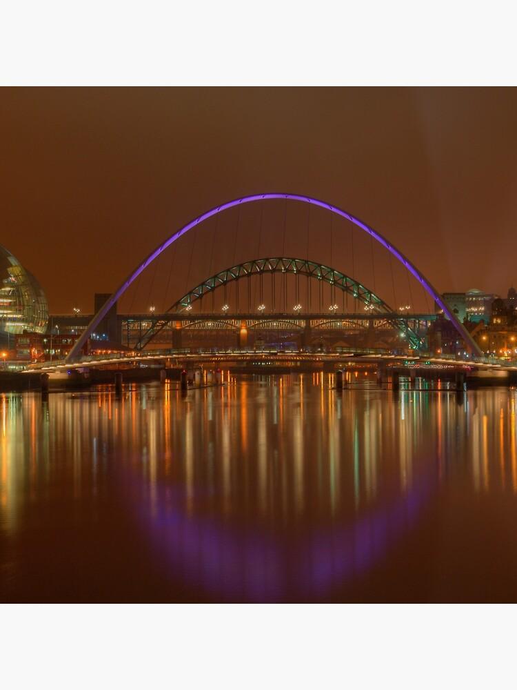 Tyne Bridges by tontoshorse