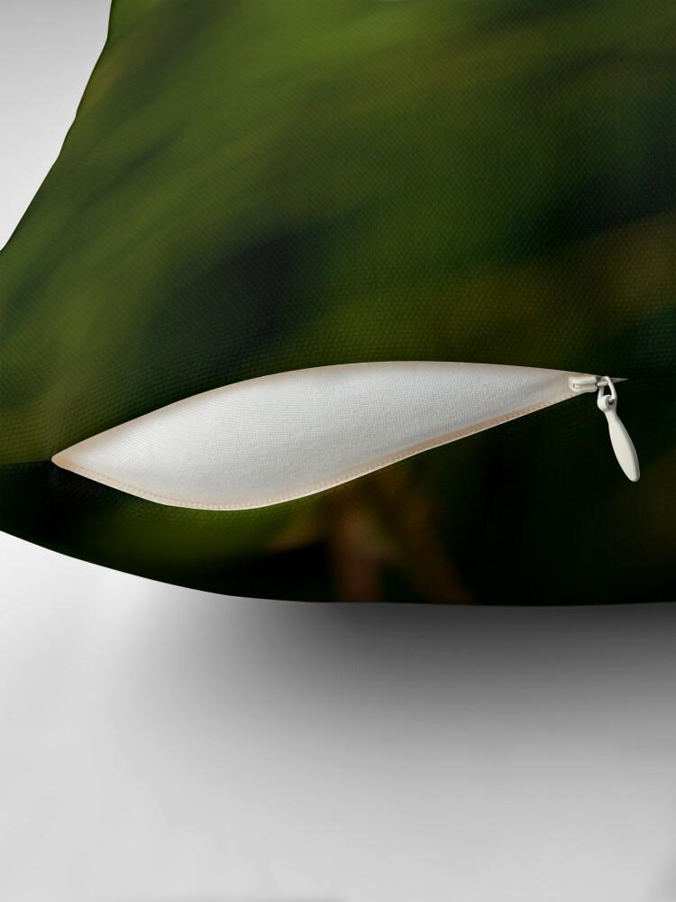 Alternate view of Meadow Saxifrage (Saxifraga granulata) Throw Pillow