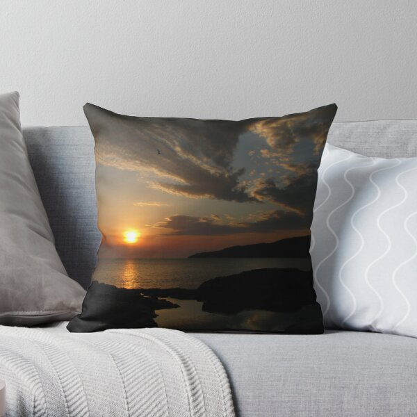 Secret Sunrise... Throw Pillow
