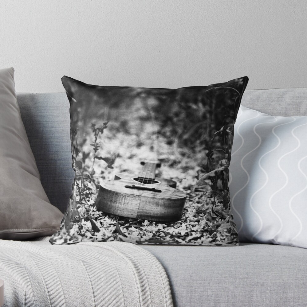 Path of the Heart Throw Pillow