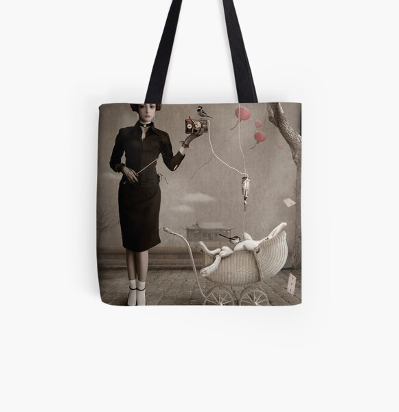 Dangerous Thoughts All Over Print Tote Bag