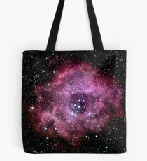 The Rosette Nebula by B A Kingsley Tote Bag