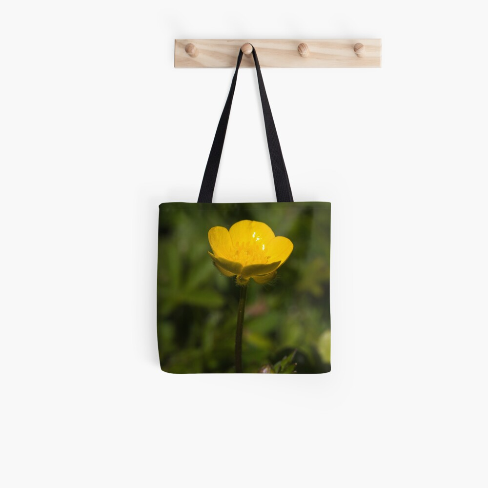 Creeping Buttercup (Ranunculus repens) Tote Bag