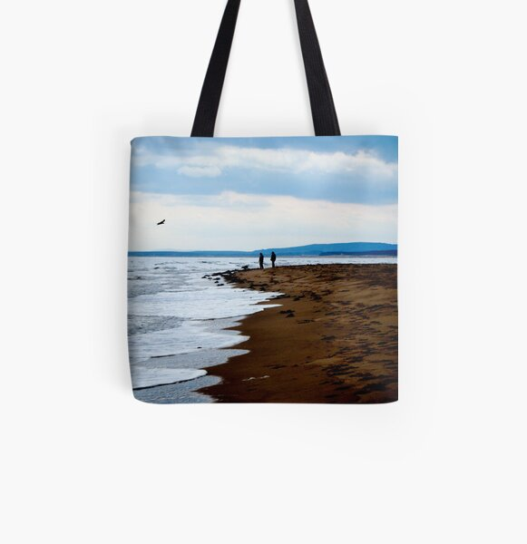 Together in the Moment All Over Print Tote Bag