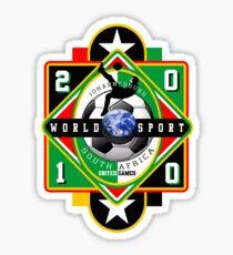 world soccer cup 2010 Sticker