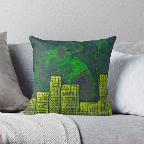 City of Chaos Throw Pillow